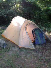 Tent w Rain Cover
