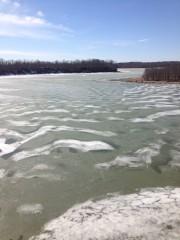 Caesar Lake in Winter
