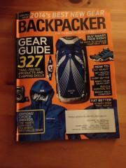Backpacker. Gear