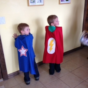 Caped Heros